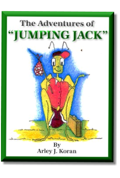 The Adventures of Jumping Jack, juvenille book cover