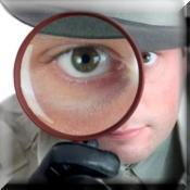 Large detective icon